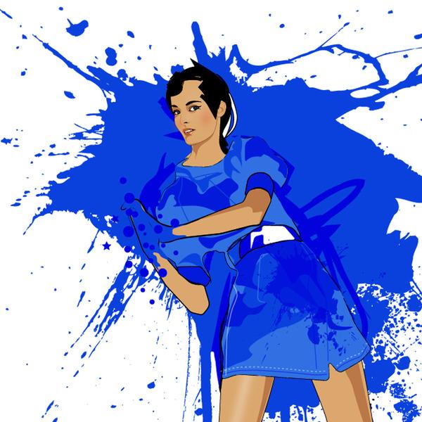 Stephanie Ferrero (nikita) has been a graphic designer and freelance illustrator since 2003