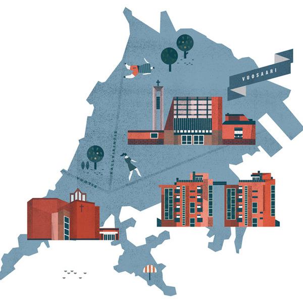 Lotta Nieminen is an illustrator, graphic designer and art director from Helsinki, Finland. She has studied graphic design and illustration at the University of Art and Design Helsinki and the Rhod...